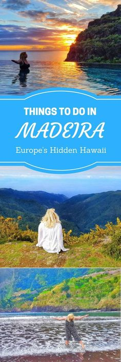 Europe's Hidden Hawaii – Things to do in Madeira, Portugal. Things to do? black sandy beaches and lava pools, levada walks and so much more... Need a place to stay? Why not try a holiday home instead of a hotel? www.casadomiradouro.com or www.madeiracasa.com self-catering vacation rental on Madeira Island, Portugal