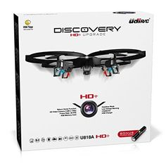 UDI 818A HD  RC Quadcopter Drone with HD Camera and Headless Mode - 2.4GHz 4 CH 6 Axis Gyro RTF - Includes BONUS BATTERY   POWER BANK Quadruples Flying Time, http://www.amazon.ca/dp/B00X9JDPYC/ref=cm_sw_r_pi_awdl_xL_aWWoybS7TWD8E