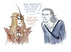 Sauron & Ossë