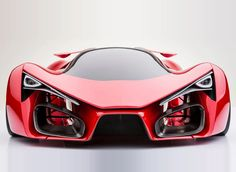 Superheroes Would Love to Drive The Ferrari F80 Concept