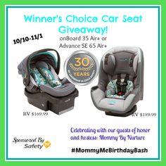 Southern Mom Loves: Win a Safety 1st Carseat in the #MommyMeBirthdayBash {Giveaway} Ends 11/1