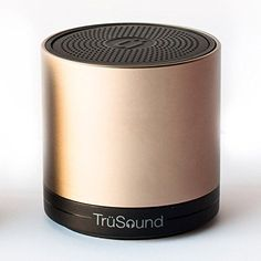 Trsound Wireless Bluetooth Speaker Bluetooth Speaker Phone Apple Gold CSR 30 -- ON SALE Check it Out