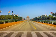 India Gate After Parade