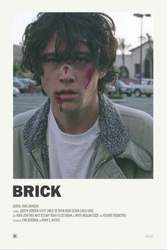 Brick alternative movie poster Visit my Store