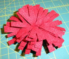 Felt Flowers and Free Patterns