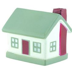 This stress shaped house is a fun novelty for real estate and allied industries.