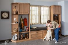 We are New Jersey's custom closet and storage solution company. Full-Service design & installation of custom closets, garages & home organization products Home Organization Hacks, Closet Organization, Organizing Ideas, Smart Storage, Pantry Storage, Storage Cabinets, Smart Home, Mudroom, Living Spaces