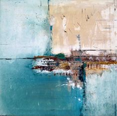 "Saatchi Art Artist elwira pioro; Painting, ""MEET ME BY THE SEA "" #art"