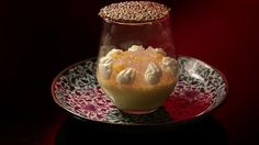Mango Mousse with Sesame Nougatine - MKR finals - Tasia and Gracia