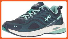 RYKA Women's Kindred Running Shoe, Navy/Green, 11 M US - Athletic shoes for women (*Amazon Partner-Link)