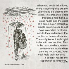 Lessons Learned in LifeWhen two souls fall in love. - Lessons Learned in Life