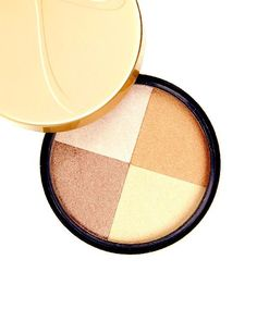 This is the bronzer I use as well! Gives you a healthy shiny glow Jane Iredale Moonglow Quad Bronzer