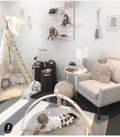 Neutral nursery ideas! Scandi