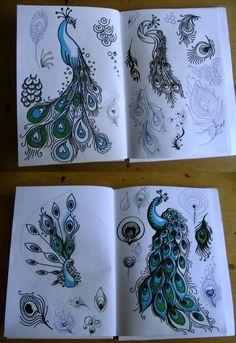 brainstorm -peacock