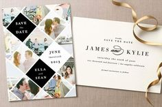 Minted Save the Dates + giveaway | 100 Layer Cake | Bloglovin'