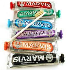 Men Beauty Tips : How to keep fresh breath with Marvis toothpastes ?  Astuces beauté au masculin : Comment garder l'haleine fraîche avec les dentifrices Marvis ?
