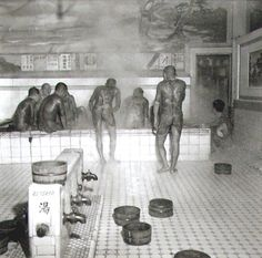 Bid now on Yakusa in Bath House by Horace Bristol. View a wide Variety of artworks by Horace Bristol, now available for sale on artnet Auctions. Japanese Gangster, Japanese Warrior, Vintage Photographs, Vintage Photos, Japanese Bath, Art Of Manliness, Pin Up, Japan Tattoo, Irezumi