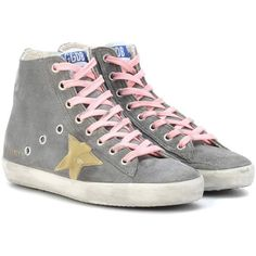 254e92f58675 Golden Goose Deluxe Brand Francy Suede High-Top Sneakers ( 435) ❤ liked on