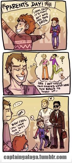 This one is an undercover ship. Steve Rogers x Tony Stark with Peter Parker as their son. If you don't know the fandom, you wouldn't notice it.