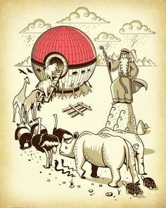 Noah's Ark Pokemon