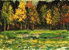 wassily kandinsky forest edge