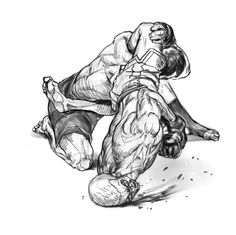 fighter by Jay Li on ArtStation. Fighting Tattoo, Fighting Drawing, Art Of Fighting, Muay Thai Martial Arts, Martial Arts Workout, Drawing Reference Poses, Drawing Poses, Fighting Poses, Sports Art