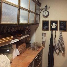 ライスストッカー/スタジオクリップのエプロン/ナチュラルキッチンの黒板/100均…などのインテリア実例 - 2014-04-16 11:35:16 | RoomClip(ルームクリップ)