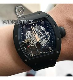All Watches : Richard Mille (Model No Richard Mille, High End Watches, Cool Watches, Tourbillon Watch, Hand Watch, Leather Watch Bands, Luxury Watches For Men, Breitling, Quartz Watch