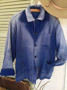 Vintage sunfaded Indigo jacket