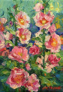 Painting Inspiration, Art Inspo, Park Art, Lisa, Floral Wall Art, Outdoor Art, Abstract Flowers, Learn To Paint, Flower Art