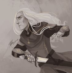 Glorfindel by Asphaloth Watch Report Fan Art / Digital Art / Drawings / Books & Novels©2017-2018 Asphaloth #glorfindel #lordoftherings #silmarillion #tolkien #tolkiensilmarillion #tolkienlordoftherings