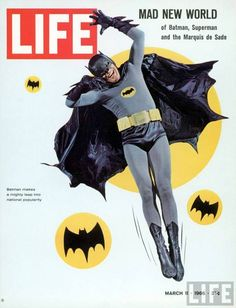 """Life Magazine, March 11, 1966 """"Batman Takes a Mighty Leap Into National Popularity."""""""