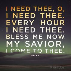 love this old hymn