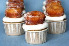 Donut cupcakes #iwish