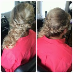 Prom Hair, Bridal Hair, Braided Updo, Braided Formal Hair, Pro Soto Beauty Studios