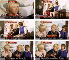 Oh Taemin, Taemin, Taemin...shouldn't have let Key-umma know about that! haha