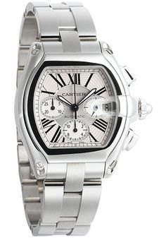 25a520f4315a1 Cartier W62019X6 Roadster Extra Large Watch