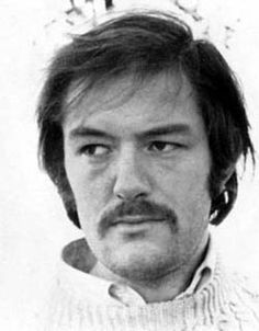 Michael Gambon in 1974 at the beginning of his career.