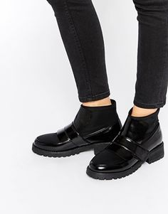 ASOS ABYSS Chunky Ankle Boots