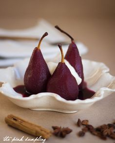 ... recipes. on Pinterest | Poached pears, Risotto and Red wines