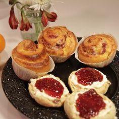 Engelska scones - enkelt recept - Mitt kök