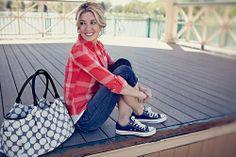 Allure Polka Dot Diaper Bag | baby gear | designer diaper bag - $99 #mommycouturedesigns
