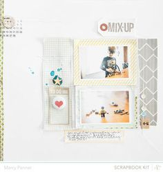 Mix Up - Studio Calico February 2013 kit - Marcy Penner