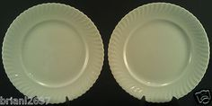 """KAISER CHINA DINNER PLATES FINE BONE CHINA MADE IN WEST GERMANY 9 5/8"""""""