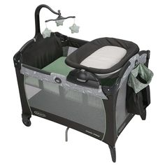 Graco Pack n Play Portable Napper & Changer - Greenhill