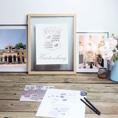 Wappen Design | Schloss Neuwartenburg Gallery Wall, Frame, Instagram Posts, Design, Decor, Crests, Decoration, Decorating, A Frame