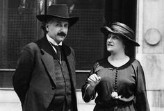 Einstein fell ill with ulcer and liver problems in 1917 while he was separated from his wife Mileva Maric. His cousin Elsa Lowenthal nursed him back to health and the two were wed in 1919.
