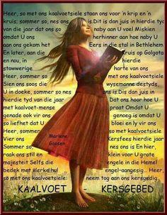 Kaalvoet Kersgebed #Afrikaans #Prayer
