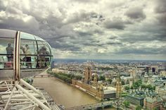 London Eye view; it's pretty great (one dayyy)
