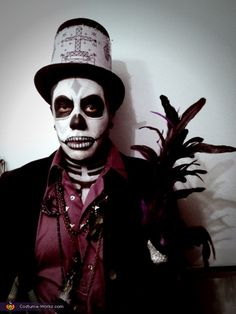 Maman Brigitte and Baron Samedi - Halloween Costume Contest via @costume_works